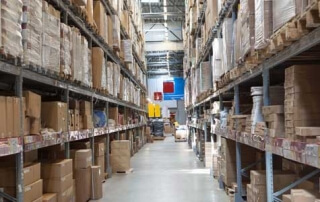 Big Box store warehouse