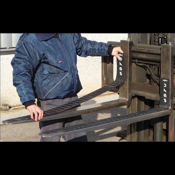 Forklift Magnets - Magnetic Fork Covers