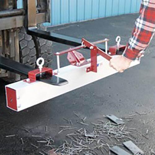 Dual Purpose Magnetic Sweeper