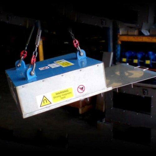 Conveyor Magnet - Stationary Separator Magnet
