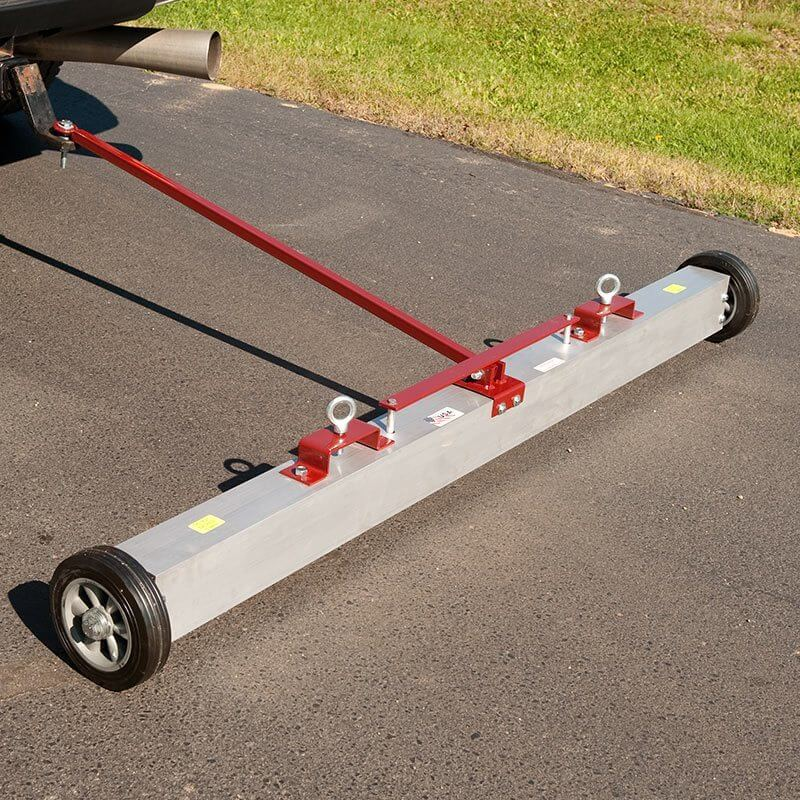 Tow Behind Magnetic Sweeper