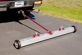 Tow-behind Magnetic Sweeper