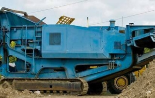 concrete recycling for road construction